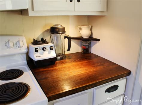how wide is a bar top small corner shelf in kitchen diy wide plank butcher