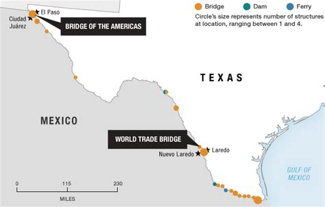 texas mexico border map drugs enter u s by truck free trade and chance npr
