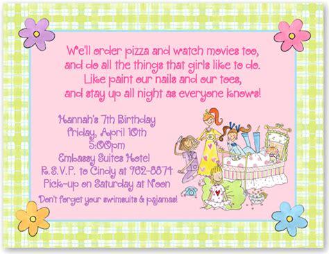 Unicorn Pajamas Nv By Goshopper birthday sleepover slumber invitations