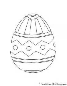 easter egg 12 stencil free stencil gallery