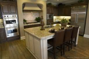 antique white island kitchens pinterest