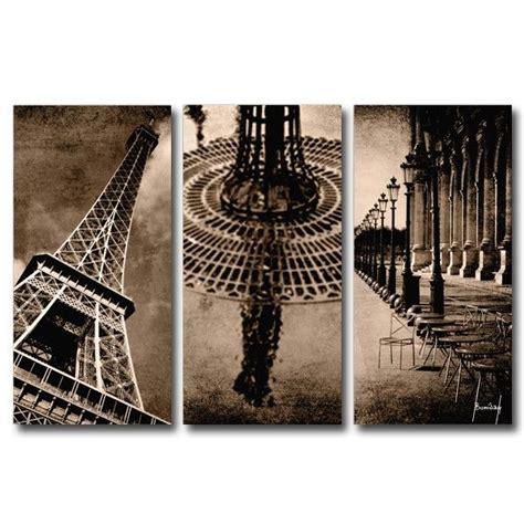 theme romantique definition tableau triptyque design paris romantique 60x90