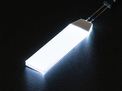 white led backlight module small 12mm x 40mm id 1626