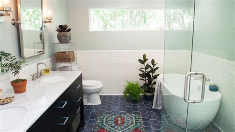 bathroom design    wc   major modern makeover martha stewart