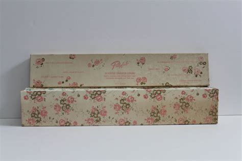 Scented Drawer Liner Paper by Vintage Scented New Stock Floral Contact Paper In