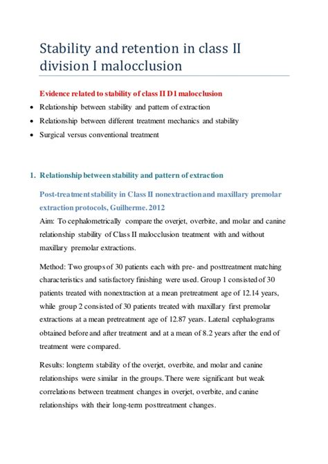 Cd E Book Rention And Stability In Orthodontics the stability of class ii malocclusion