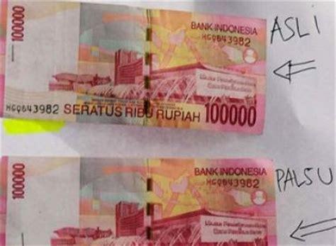 Perbedaan Bps Asli Dan Palsu sumber ilmu pengetahuan perbedaan dan ciri ciri uang asli