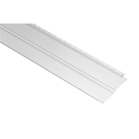 gp 8 ft white solid parkside skirting 564155 the home depot