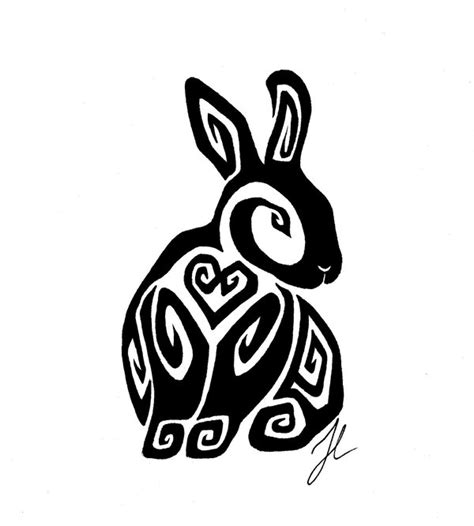 rabbit tribal tattoo tribal bunny rabbit car interior design
