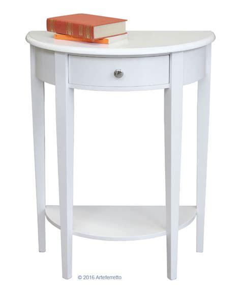consolle soggiorno piccola consolle in legno con cassetto per l ingresso o