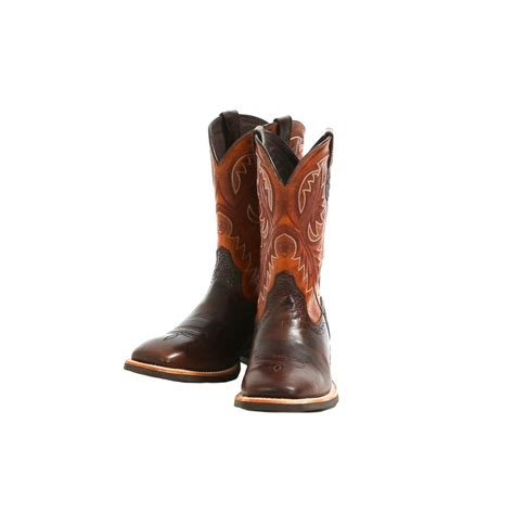 ariat quickdraw boots mens ariat s quickdraw thunder cowboy boots d d