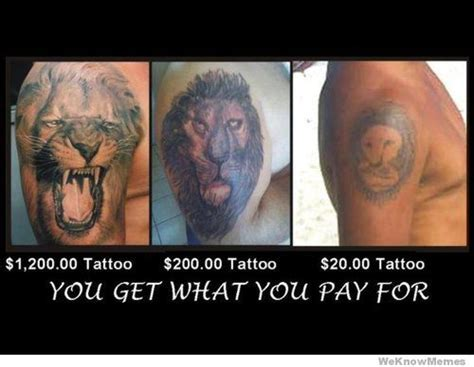 Bad Tattoo Meme - cheap tattoo memes image memes at relatably com