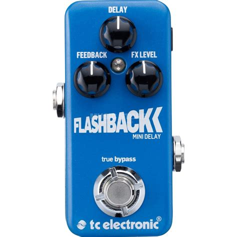 Tc Electronic Delay tc electronic flashback delay mini