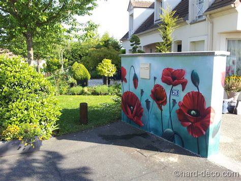 Decoration Mur Exterieur Maison by Murs De Jardin Terrasses D 233 Coration Graffiti Deco
