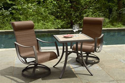 ty pennington outdoor furniture ty pennington palmetto 3pc bistro set limited availability outdoor living patio furniture