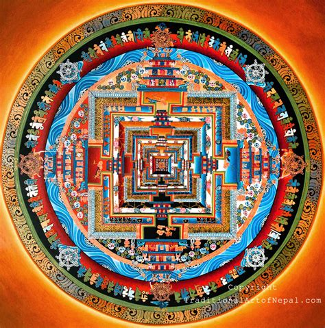 Beautiful Buddhist Religious Art #7: Kalachakra-Mandala.jpg