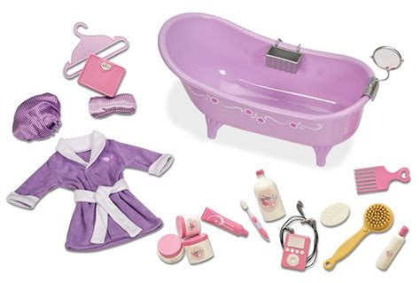 our generation bathtub slipper tub with bath and body set our generation dolls