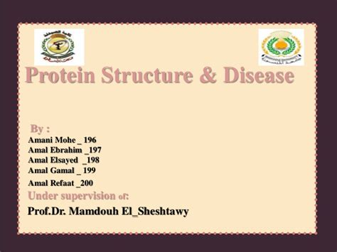 m protein disease protein structure and disease