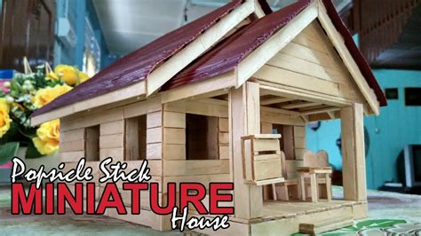 Miniature Of House popsicle stick miniature house custom made doovi