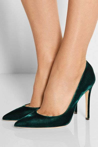 Sepatu M4nolo Blahnik Green Emerald gianvito stay calm n buy shoes