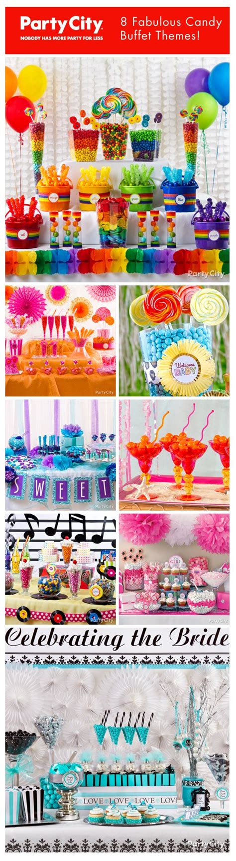 100 candy buffet ideas for bridal shower or wedding baby