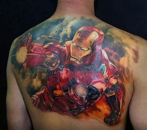 full body iron man tattoo 70 iron man tattoo designs for men tony stark ink ideas
