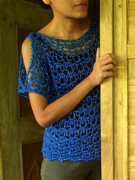Fathina Blouse crochetology by fatima another crochet blouse