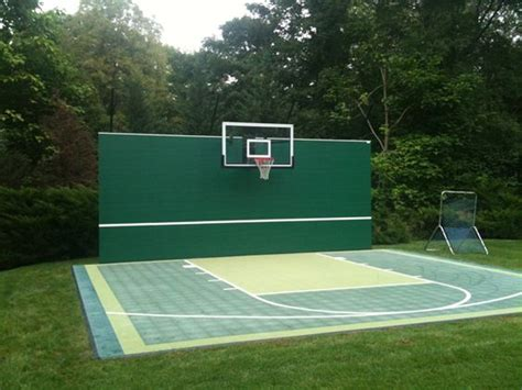 diy backyard basketball court diy handball court google search handball court