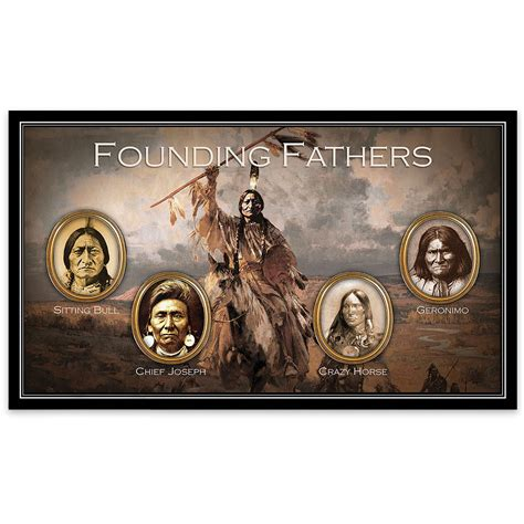 American Kitchen Knives native american indian founding fathers 4 piece pocket