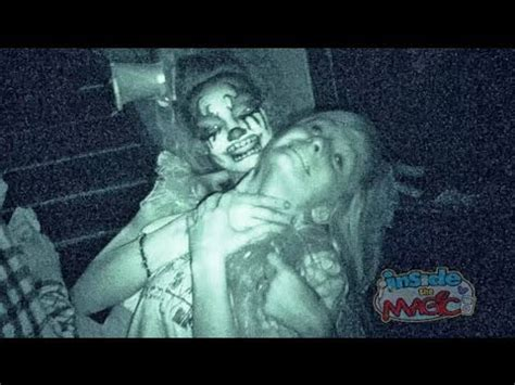 inside scarehouse 2013 with the basement updated haunted