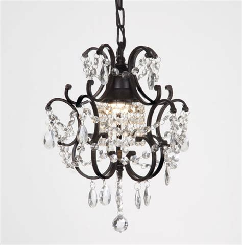 Black Bathroom Chandelier Versailles 1 Light Black Mini Chandelier