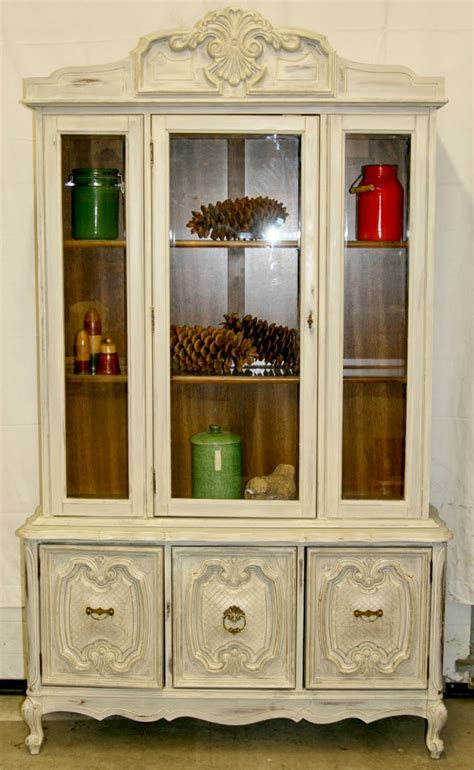 white china cabinet laurel s attic warm white china cabinet sold