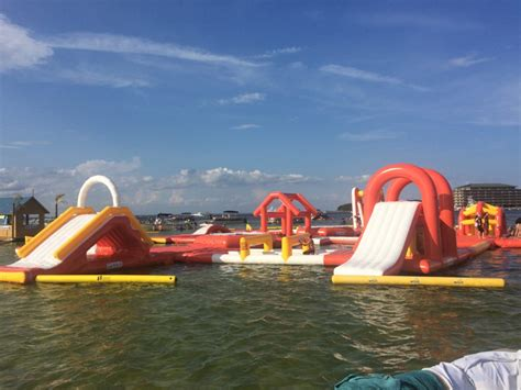 crab island boat rental prices crab island water park family fun at crab island