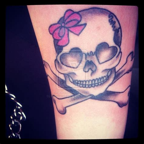 tattoo designs us girly skull tattoos