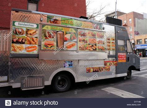 truck in ny halal food truck in the east area of york city
