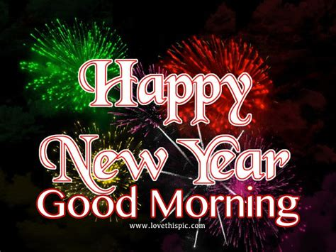 happy new year good morning pictures photos and images