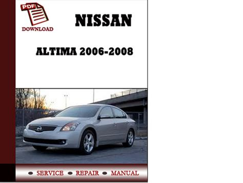 free car manuals to download 2007 nissan altima electronic throttle control service manual auto repair manual free download 1997 nissan altima interior lighting service