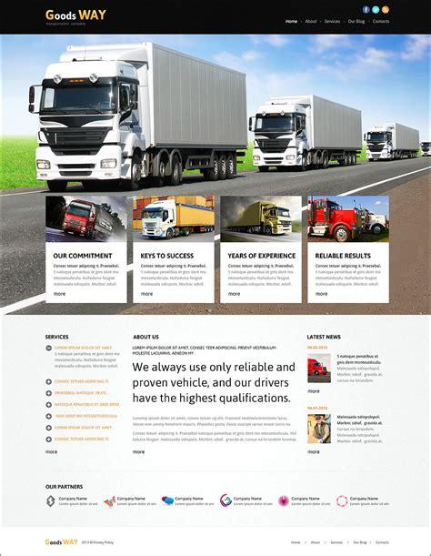 joomla responsive templates transportation company joomla templates themes