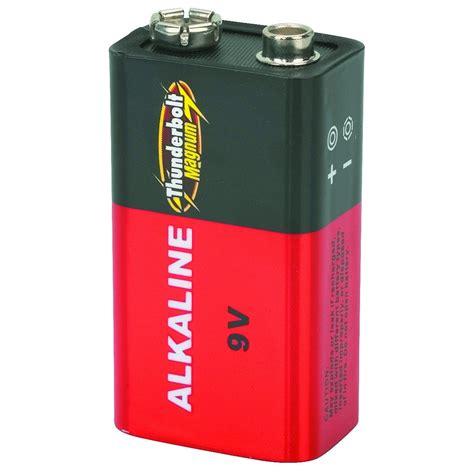 Batre Alkaline 9 Volt by 4 Pack 9 Volt Alkaline Batteries
