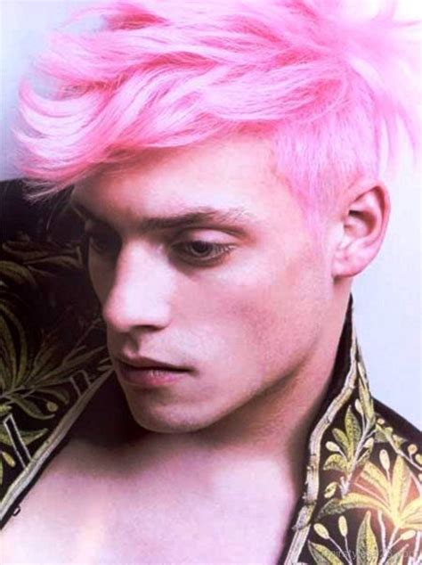 haircuts for colored pink hair men hairstyles