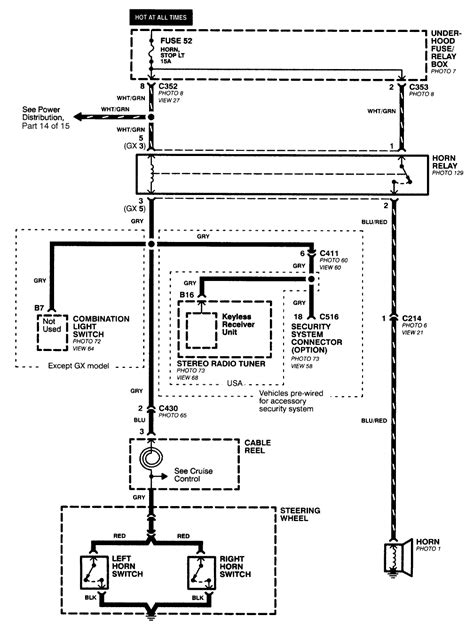 97 civic alarm wiring diagram somurich