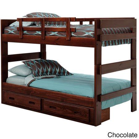 Woodcrest Heartland Futon Bunk Bed by Woodcrest Heartland Collection Split Bunk Bed Walmart