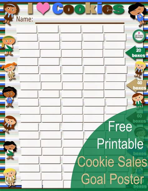 free printable goal poster 1205 best girl scouts images on pinterest daisy girl