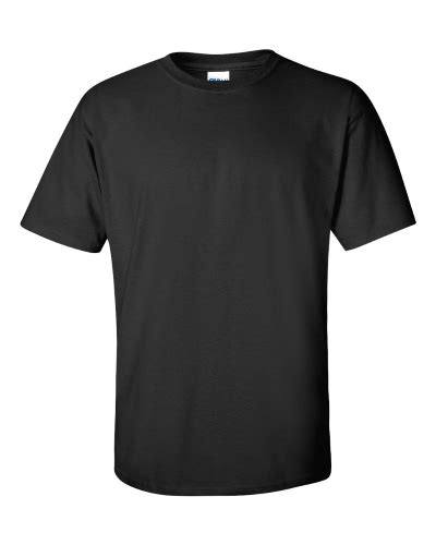 Gildan Ultra Cotton T Shirt Black Gildan Black T Shirt Template