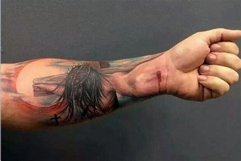 3d tattoo jesus christ 30 jesus on forearm tattoo designs amazing tattoo ideas