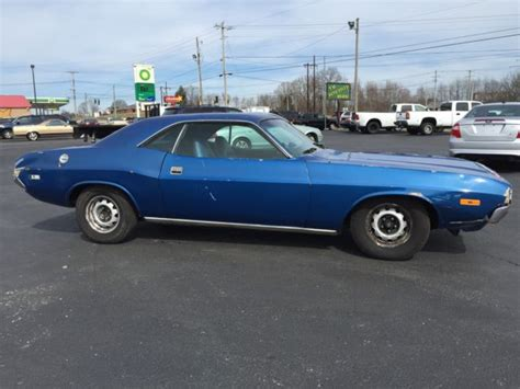 1972 dodge challenger project car for sale
