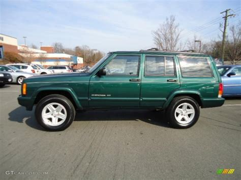 2000 forest green pearl jeep limited 4x4 43255132 photo 2 gtcarlot car color