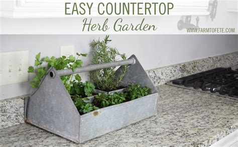 countertop herb garden farm to f 234 te easy countertop herb garden