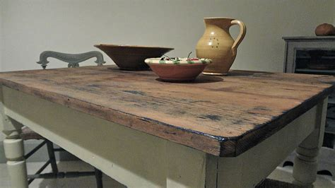 vintage pine kitchen table by distressed but not forsaken