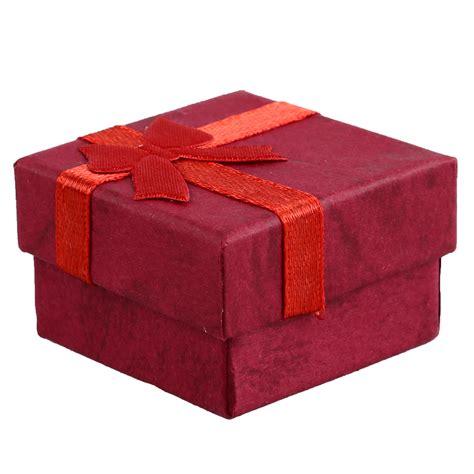 24 pcs ring earring jewelry display gift box bowknot